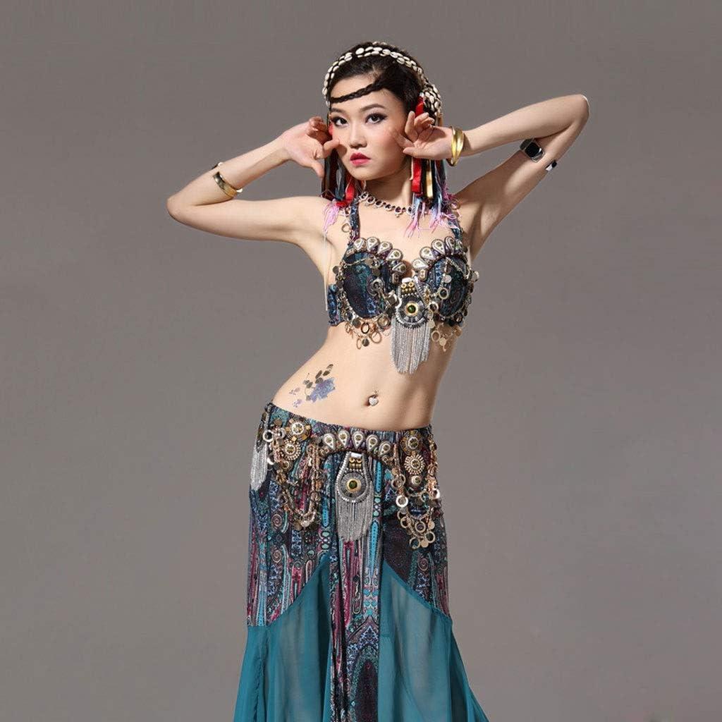 Astage Femme Indienne Belly Danse Costumes Halter Harem Pantalon Performance Set