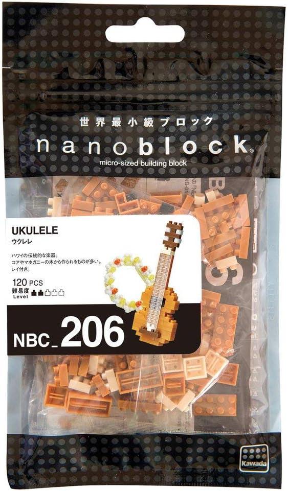 nanoblock NBC206 Ukulele Building Kit