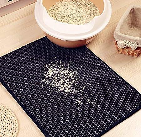 a Nido d Ape Authda lettiera Lavabile a Doppio Strato Non tossico Durevole di Schiuma Easy Clean Floor Carpet della lettiera Antiscivolo Varie Misure