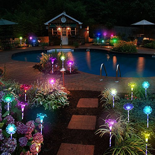 Solar Outdoor Lights Uae: 3 Pack Solar Powered Garden