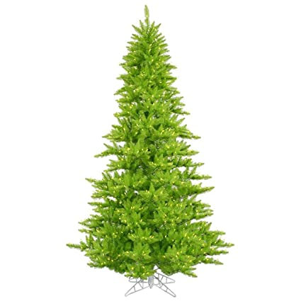 vickerman 434185 54 lime green fir tree with 250 lime lights christmas tree - Lime Green Christmas Tree