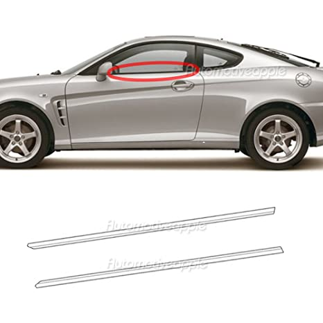 Automotiveapple Genuine Weather strip cinturón LH RH para 2004 – 2008 Hyundai Tiburon Coupe