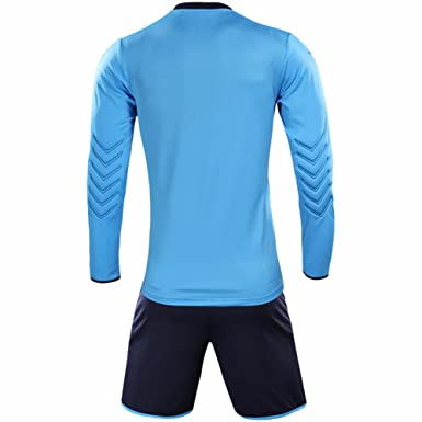 79f1a1cb4 Amazon.com  KELME Men s Goalkeeper Long Sleeves Jersey   Shorts Youth Suit   Clothing