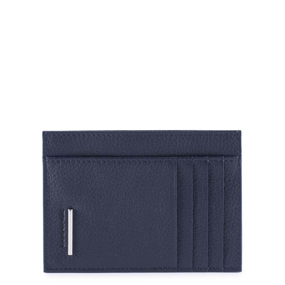 Piquadro Modus Business Card Case, 12 cm, Blue (Blu)