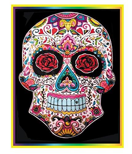 Colorvelvet L103 Disegno Teschio 47 X 35 Cm Amazones Industria