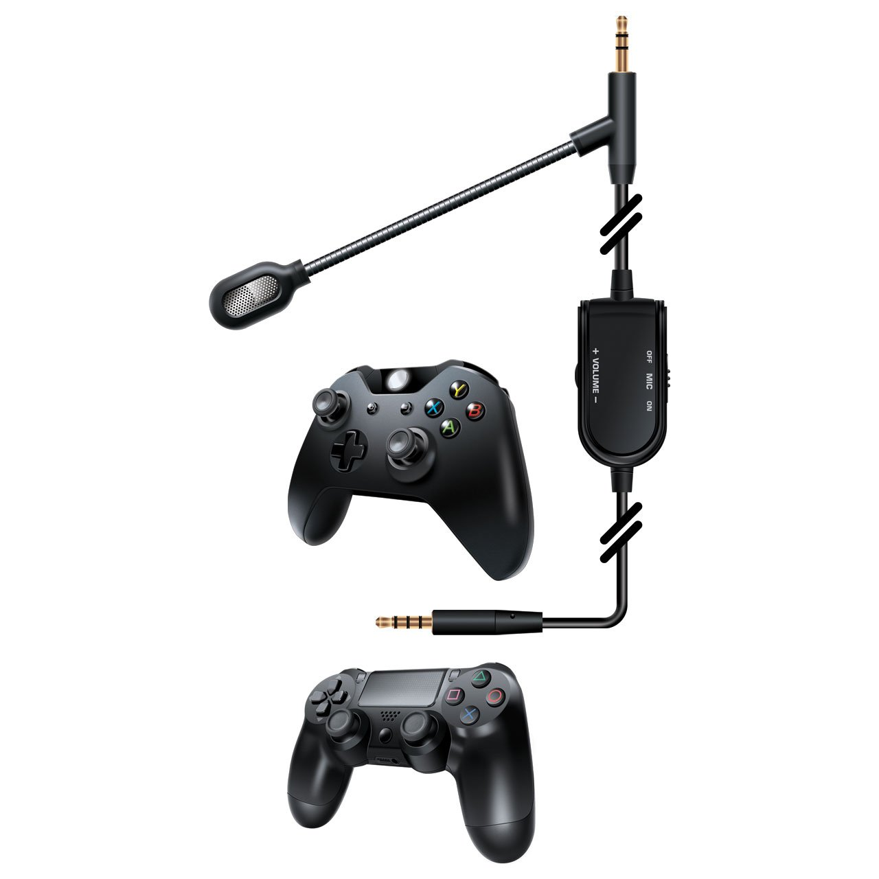 dreamGEAR BoomChat – Detachable Headphone Cable & Boom Mic Convert Premium Headphones into a Gaming Headset by dreamGEAR