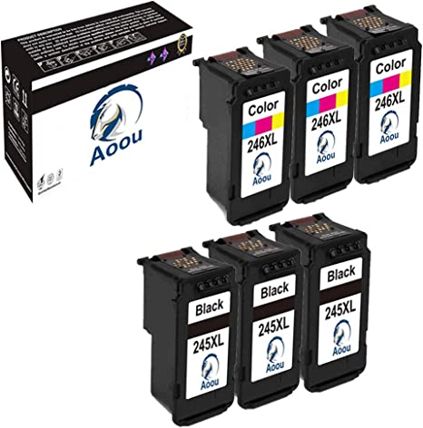 3x PG-245XL 1x CL-246XL Ink Cartridge for Canon PIXMA IP2820 MG2920 MX490 MX492