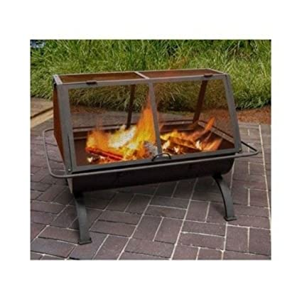 Amazon Com Outdoor Fireplace Fire Pit Wood Burning Chiminea