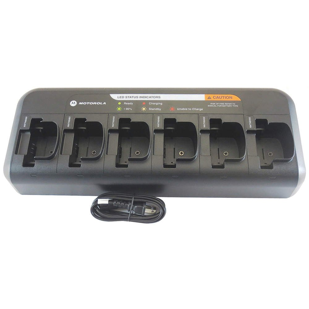 Image of Batteries Multi Unit Charger, 6 Unit, 110 to 240VAC