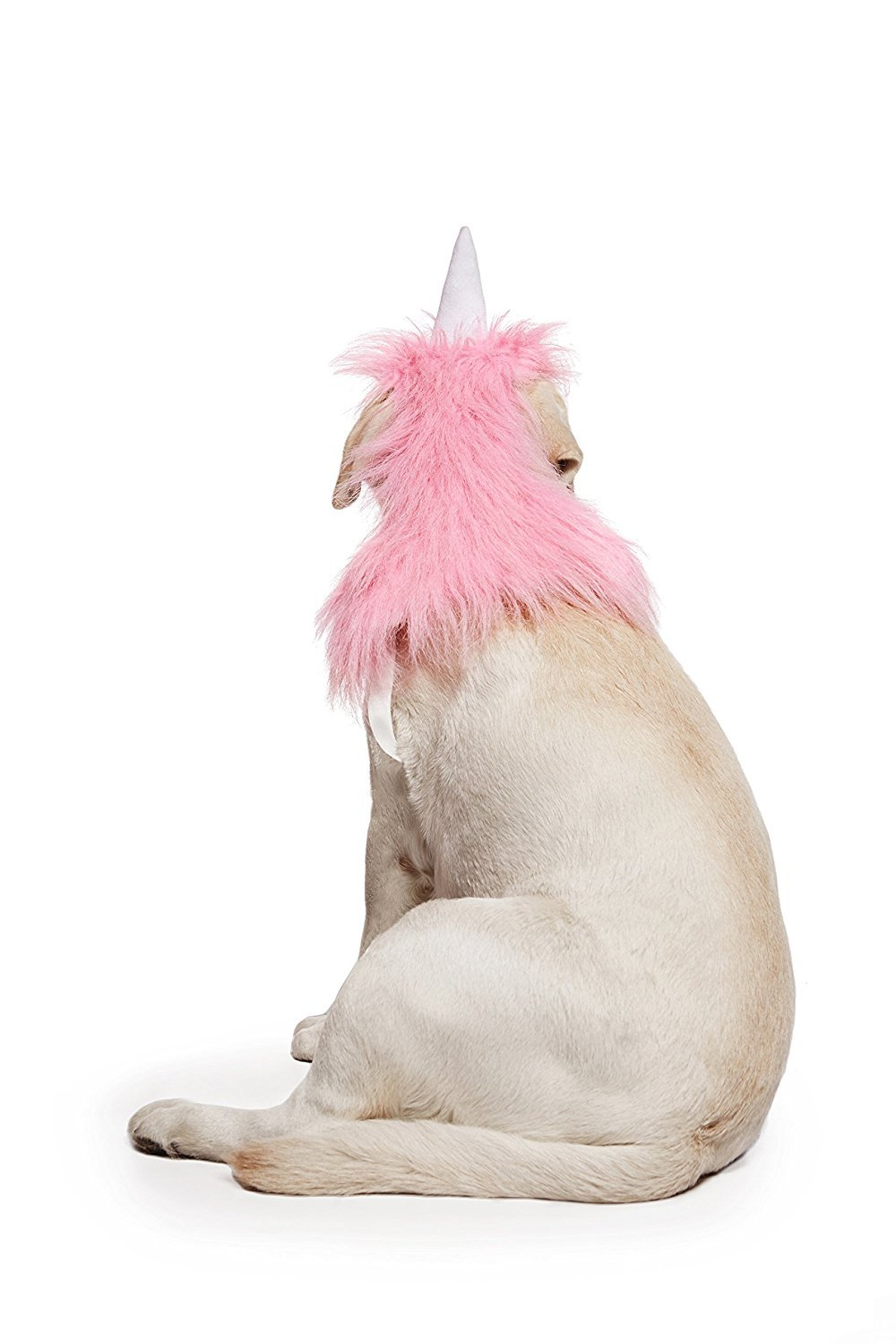 Nothing But Love Pink Unicorn Costume for Dogs Pups Mane /& Horn Headdress Wig Pet Dress Up Party