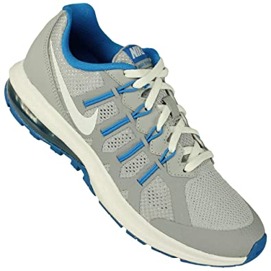 65079f28b9 Amazon.com | Nike Big Kids Air Max Dynasty (GS) Grey/White/Blue 820268-004  (4.5 Big Kid M) | Athletic