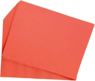 product image for Construction Paper, Orange, 9 inches x 12 inches, 50 Sheets, Heavyweight Construction Paper, Crafts, Art, Kids Art, Painting, Coloring, Drawing Paper, Art Project, All Purpose (Item # 9CPOR)