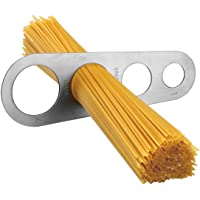 MYNC - 4-Holes Measuring Tool Stainless Steel Spaghetti Measurer Kitchen Beginner Professional Chef Cooking
