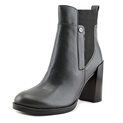 Amazon.com | Tommy Hilfiger Womens Brittton Closed Toe Ankle Fashion Boots | Ankle & Bootie