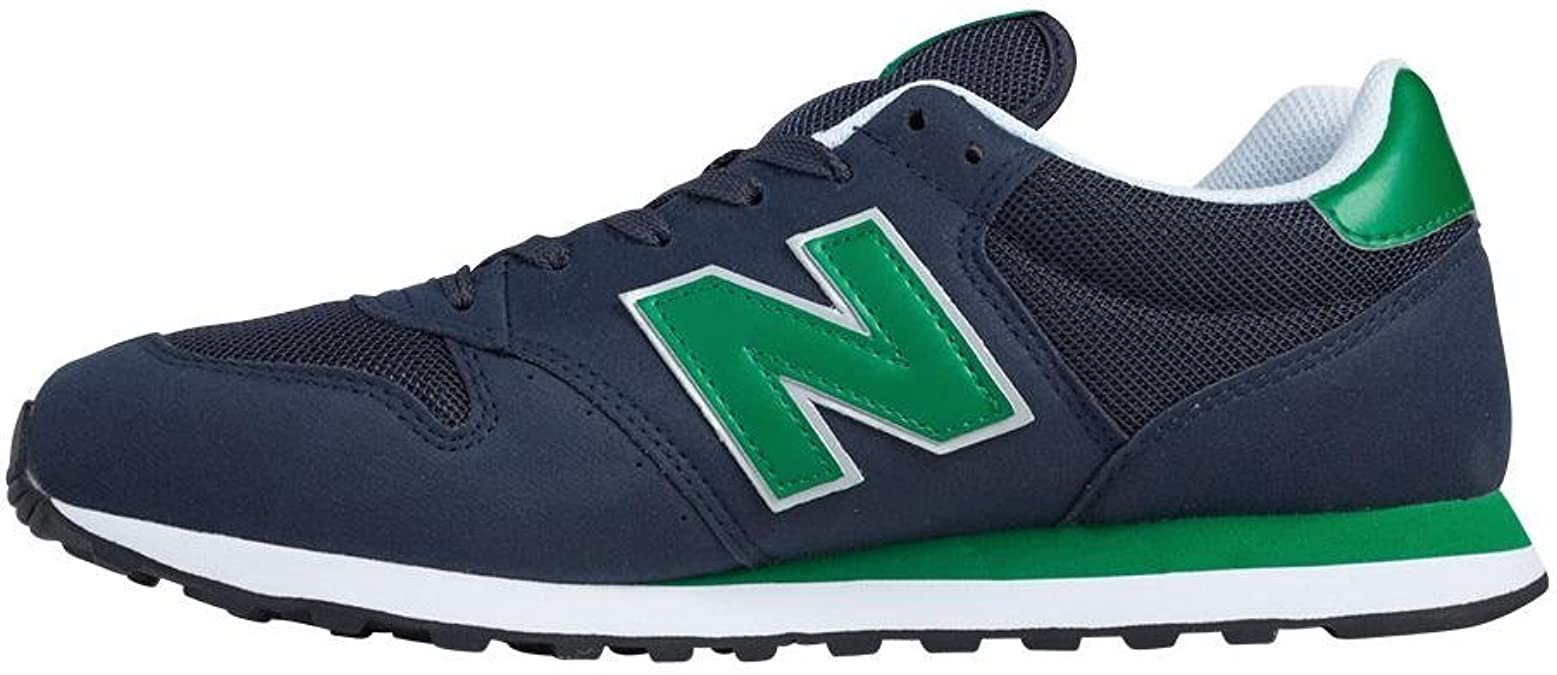 New Balance GM500 Herren Sneaker, Marineblau / Grün / Weiß ...