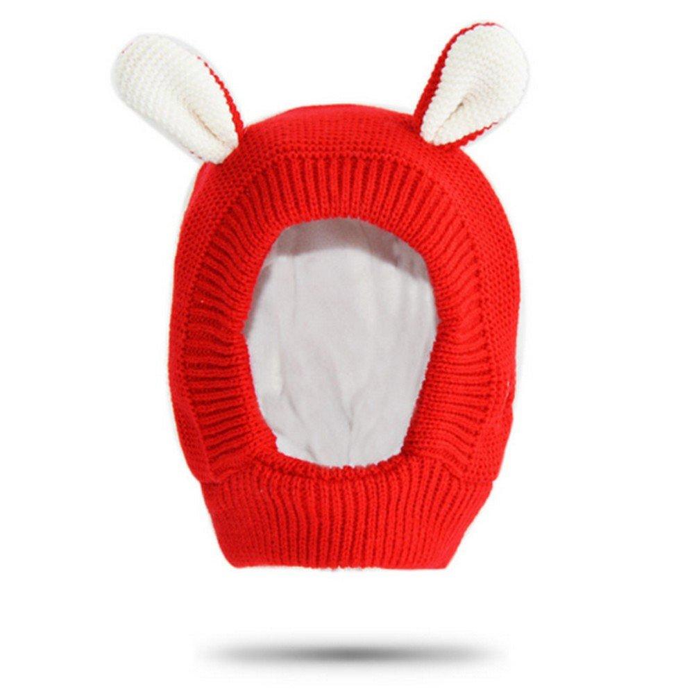CATOP Kids Baby Hat Warm Fleece Winter Hat Earmuff Earcap Knit Toddler Beanie Hat BH-AD1