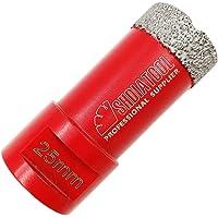 SHDIATOOL Broca de Diamante 25MM Vacío Soldadura