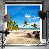 10 Pieces in Stock-Kate 5x7ft Tropical Rainforest Photography Backdrop for Photographers Microfiber Cloth for Parties Digital Printed Summer Beach Background
