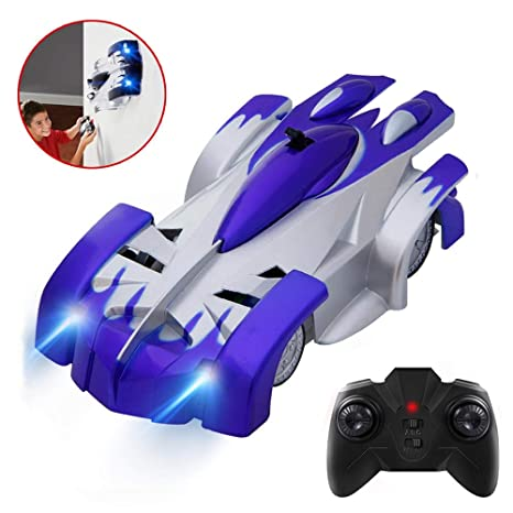 Amazon Joyjam Toys For 5 8 Year Old Boys Wall Climbing Car RC Cars Stunt Vehicle Race Kids 6 10 Birthday Gifts PQC Blue Games