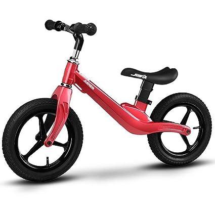 Bicicleta sin pedales Bici Bicicleta de Equilibrio para niños de 18 ...
