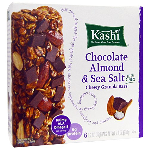 Kashi Chewy Granola Bars, Chocolate Almond and Sea Salt with Chia
