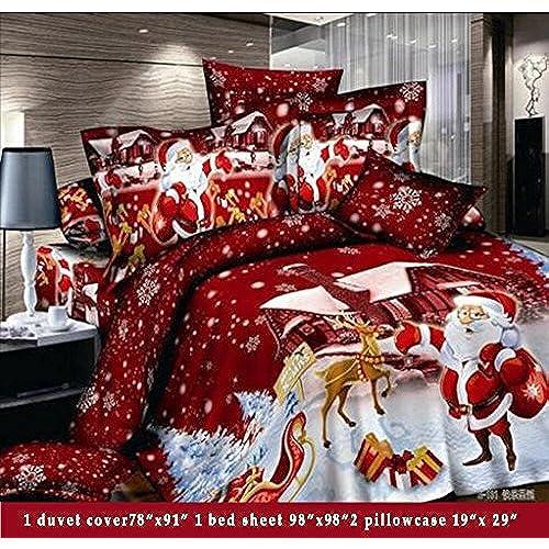 Christmas Bed Sheets: Amazon.com