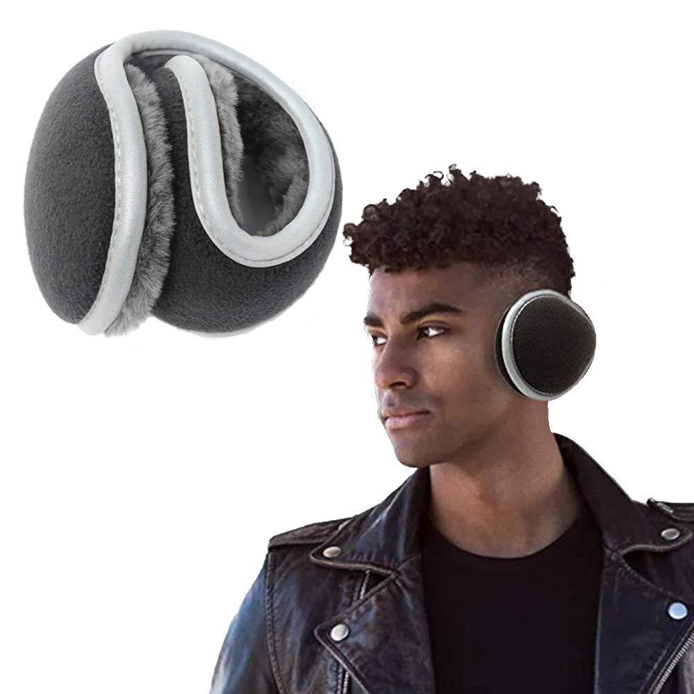 orejeras envolventes plegables unisex calentador de oreja grueso para deportes de invierno al aire libre WENTS Orejeras Plegables Orejeras de punto c/álido