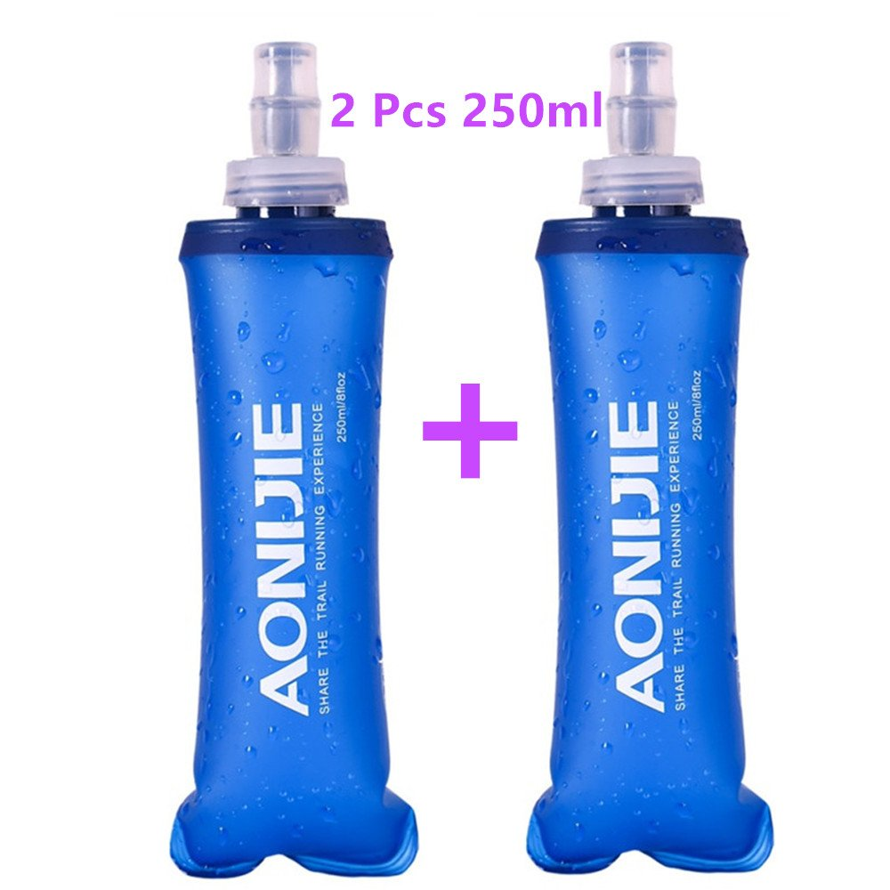 AONIJIE Sports Water Bottle BPA Free – TPU Soft Drink Water Kettle Foldable Flask for Outdoor Hike Bicycling Running