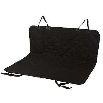 Funda de asiento de coche para perros, carboss mascotas hamaca cama antideslizante asiento trasero Cover