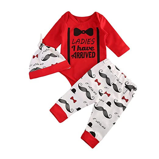 1a72522700ed Amazon.com  CAIBIET Newborn Baby Girl Boy Coming Home Outfits ...