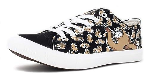 5367f5cc9405d Sloth Sneakers | Cute, Fun Sloths at Play Lazy Kid Spirit Animal Gym Tennis  Shoe