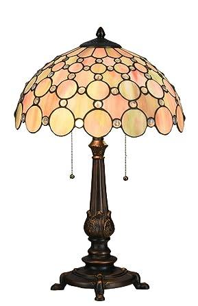 Niloah Nh16305 Tiffany Style Table Lamp 16 Inch Shade Amazon Com