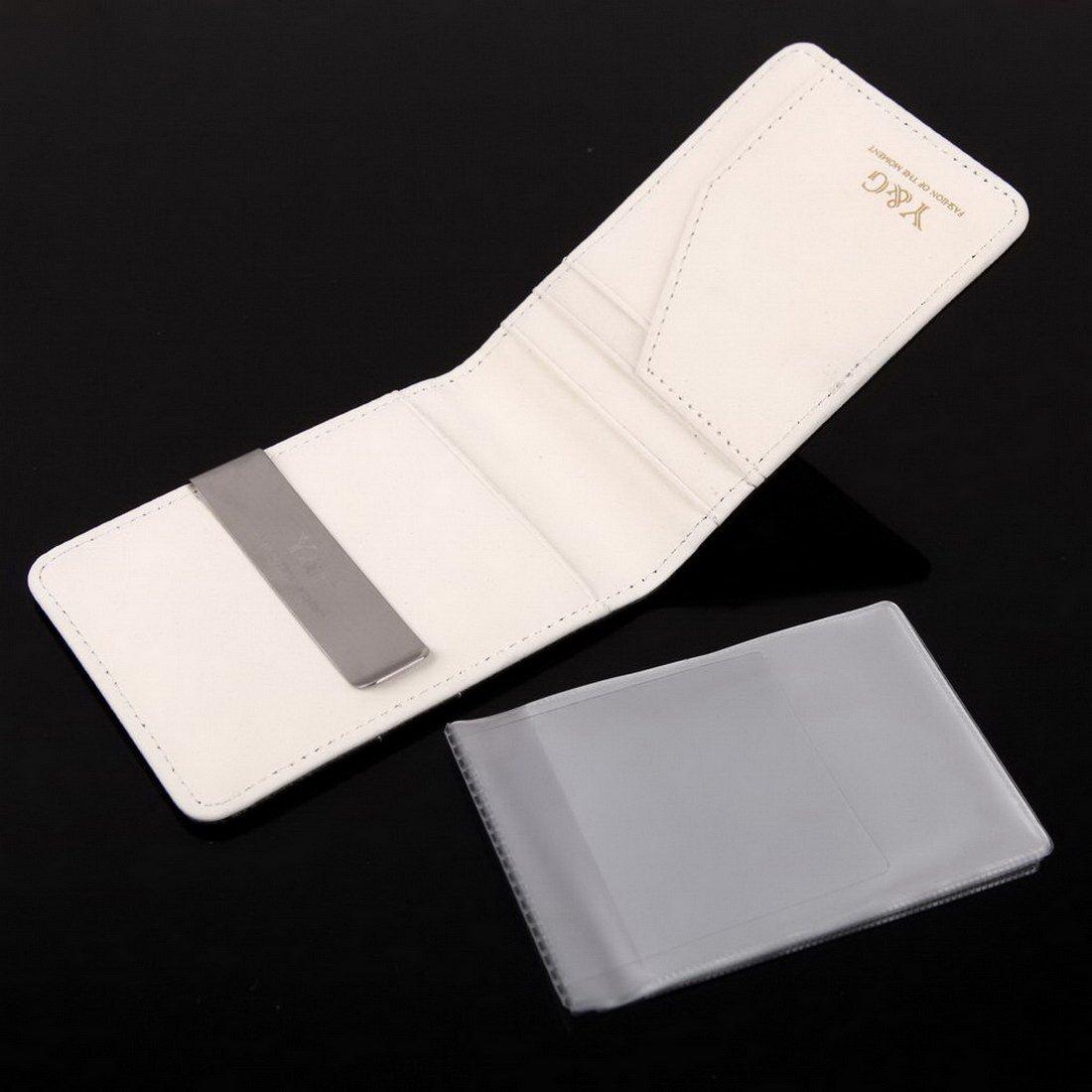 YCC1001 Dise?ador Blanco Negro Contemporš¢neo Money Clip Wallet 15 titular de la tarjeta para hombre Monedero Idea Fabricantes regalo por Y&G: Amazon.es: ...