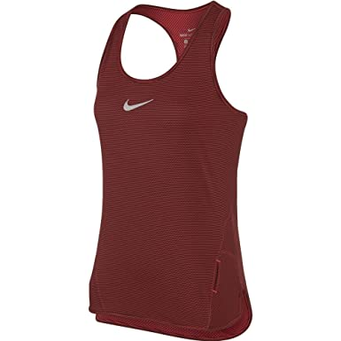 a2a05d09134af Amazon.com  Nike Women`s AeroReact Running Tank Top  Clothing