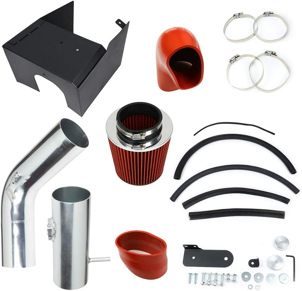 SHINDESON 3.5 Engine Cold Air Intake System Kit Fit For Ford F-150 2005-2008 5.4L V8