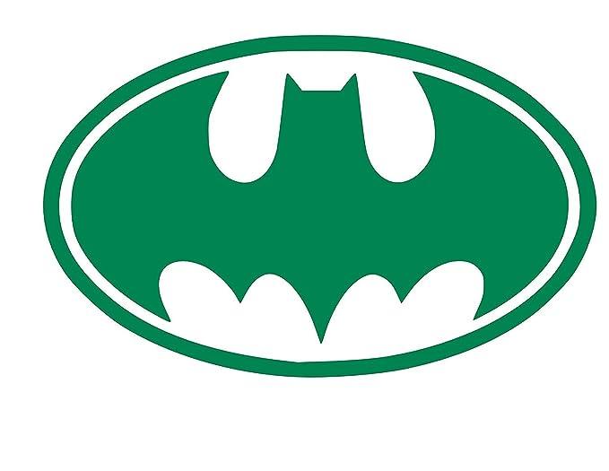 Amazon Batman Symbol Vinyl Sticker Decal 4 X 25 Green