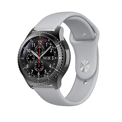 BarRan Samsung Galaxy Watch 42mm Correa, 20MM Quick Release Edición Especial Deportes Recambio de Pulseras Ajustable Accesorios para Samsung Gear ...