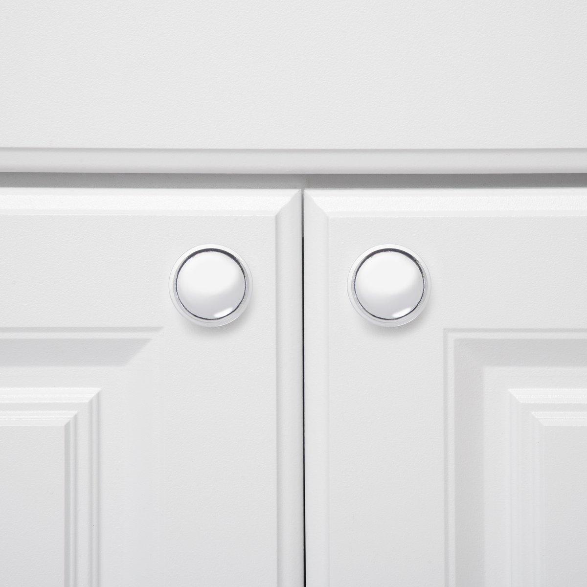 AmazonBasics - Pomo de armario, con diseño de aro superior ...