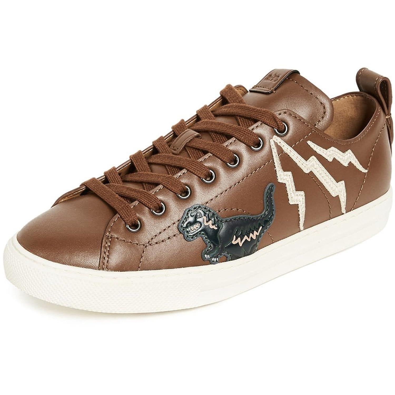 (コーチ) Coach New York メンズ シューズ靴 スニーカー Rexy Patched C121 Low Top Sneakers [並行輸入品] B07CGJDRG6