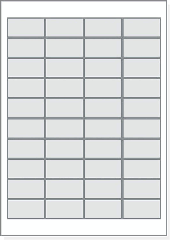/Étiquettes universelles 48,5 x 25,4 mm autocollantes blanches imprimables 1000 /étiquettes//autocollants 48,5 x 25,4 cm sur 25 feuilles A4-3657 4780 4474