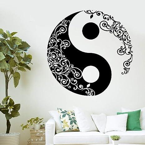 Mandala etiqueta de la pared calcomanía casa buddha yin yang ...