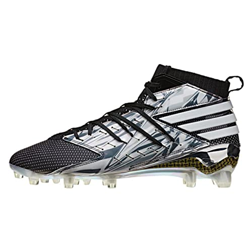 47988465a8f adidas Freak X Primeknit Mens Football Cleats 14 White-Black-Platinum