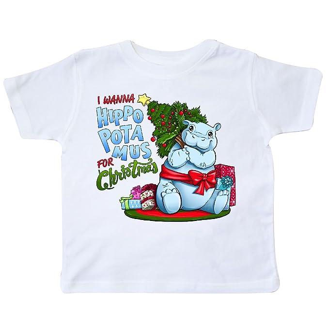 I Wanna Hippopotamus For Christmas.Amazon Com Inktastic I Wanna Hippopotamus For Christmas