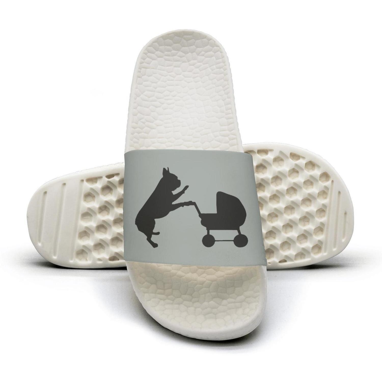 French Bulldog The Baby Sister Slippers Sandals Slippers for Men