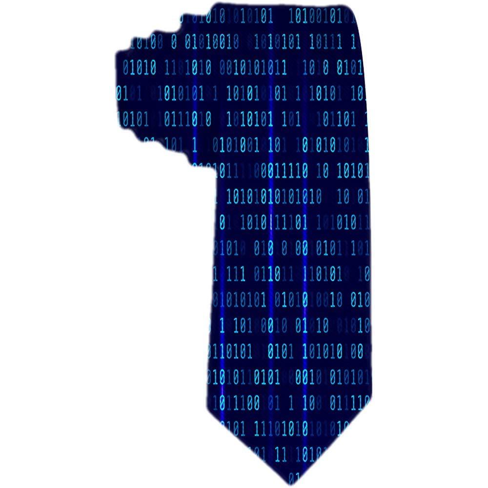 Corbata tejida clásica de negocios para hombres Programador de ...