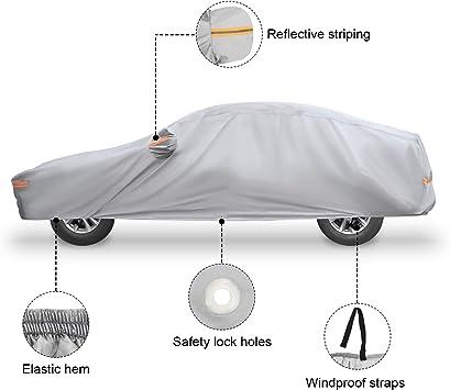 07+ Heavy Duty Waterproof Car Cover Protector Sun Snow Rain For DODGE AVENGER