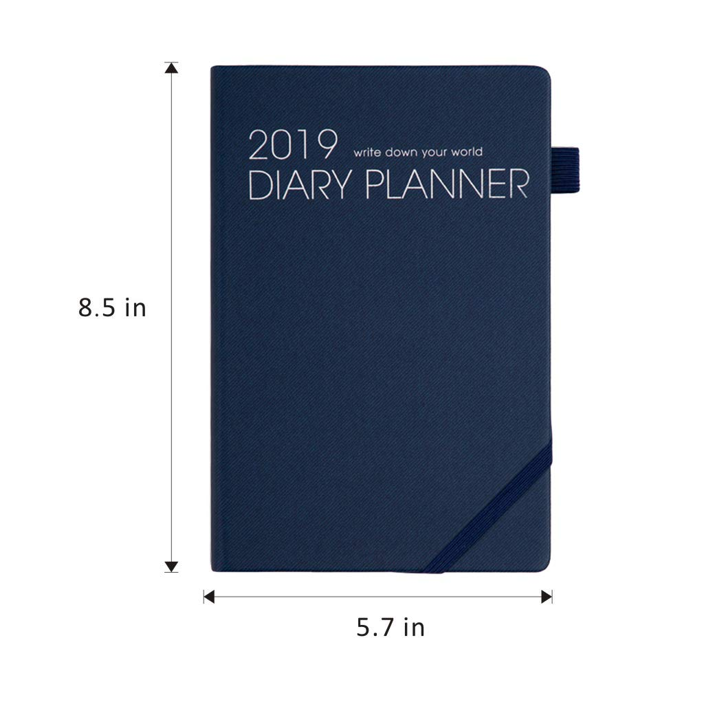 Amazon.com : Formemory Premium 2019 Planner A5 Agenda ...