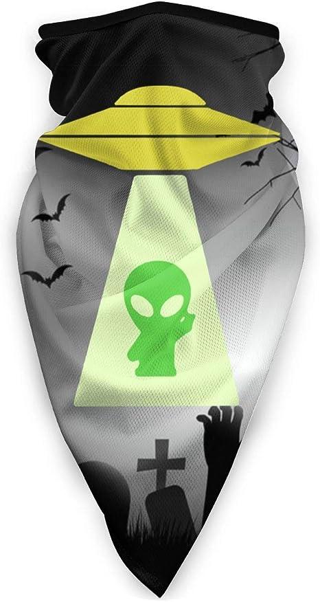 Space Alien UFO Divertido a prueba de viento Máscara ...