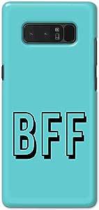Okteq thin slim fit case forSamsung Galaxy Note 8 - bff blu by Okteq