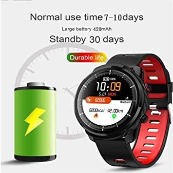SAILORMJY Reloj Inteligente,Pulsera de Actividad Inteligente ...